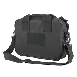 VISM by NcSTAR CPDX2971U DOUBLE PISTOL RANGE BAG/ URBAN GRAY