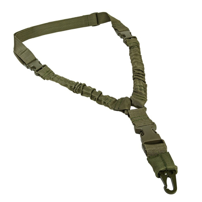 VISM by NcSTAR ADBS1PG Deluxe Single Point Bungee Sling Green