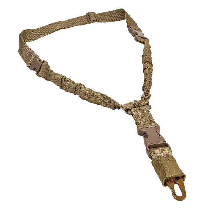 VISM by NcSTAR ADBS1PT Deluxe Single Point Bungee Sling Tan