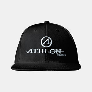 Athlon Optics Logo Flatbill Hat Black