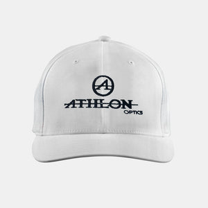 Athlon Optics Logo Trucker Hat White