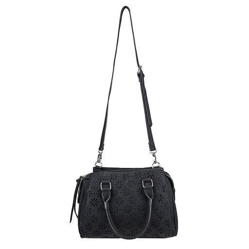 VISM by NcSTAR Concealed Carry BWQ001 Daisy Crossbody Satchel Black