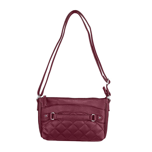 VISM by NcSTAR Concealed Carry BWS003 Quilted Crossbody Bag Red