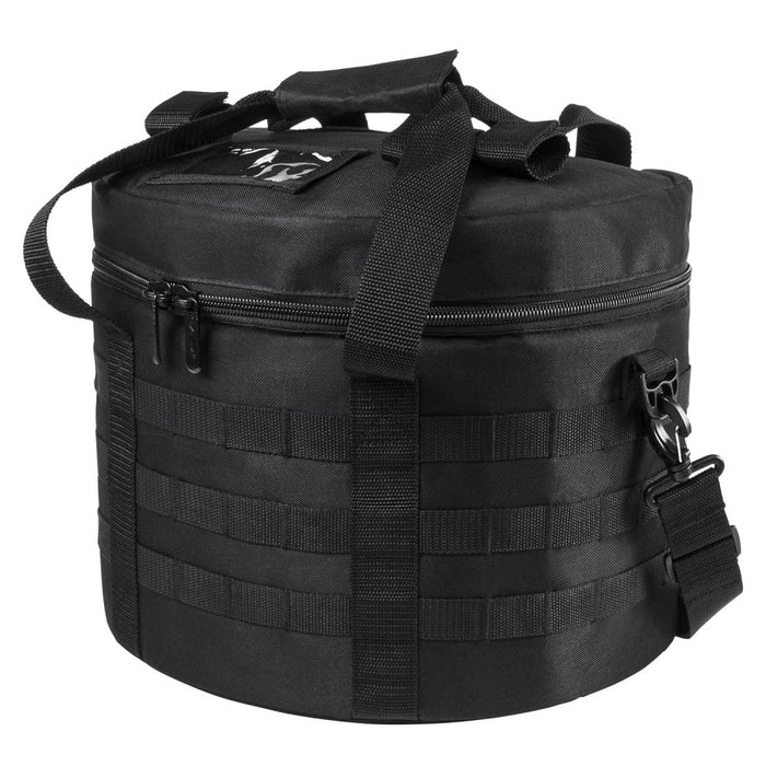 VISM by NcSTAR CLHELBAG2981B Riot Tactical Helmet Bag Black