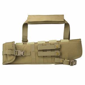 VISM by NcSTAR CVXSCB3016T TACTICAL RIFLE SCABBARD SBS AOW Short Barrel SCBD Tan