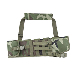VISM by NcSTAR CVXSCB3016WC Tactical Rifle Scabbard SBS AOW Short Barrel SCBD Woodland Camo