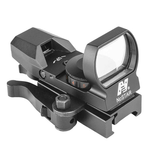 NcStar Red & Green Reflex Sight with 4 Reticles and QR Mount - Black