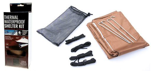 SE EB5877BR Waterproof Thermal Shelter Kit Survivor Series