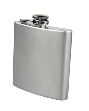 SE HQ66SP Survivor Series Stainless Steel Hip Flask