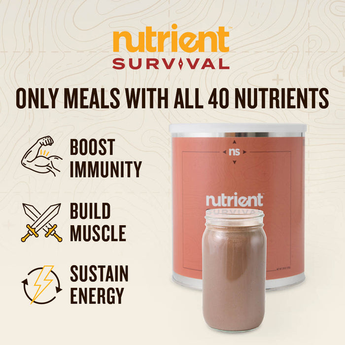 Nutrient Survival CREAMY CHOCOLATE SHAKE