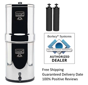 Berkey IMP6X2-BB Imperial Stainless Steel Water Filtration System 4.5 Gallon With 2 Filters