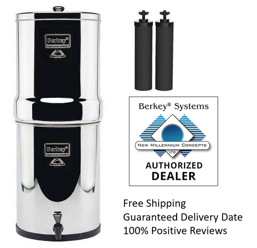 Royal Berkey 3.25 Gal. Water Purifier 2 Filters