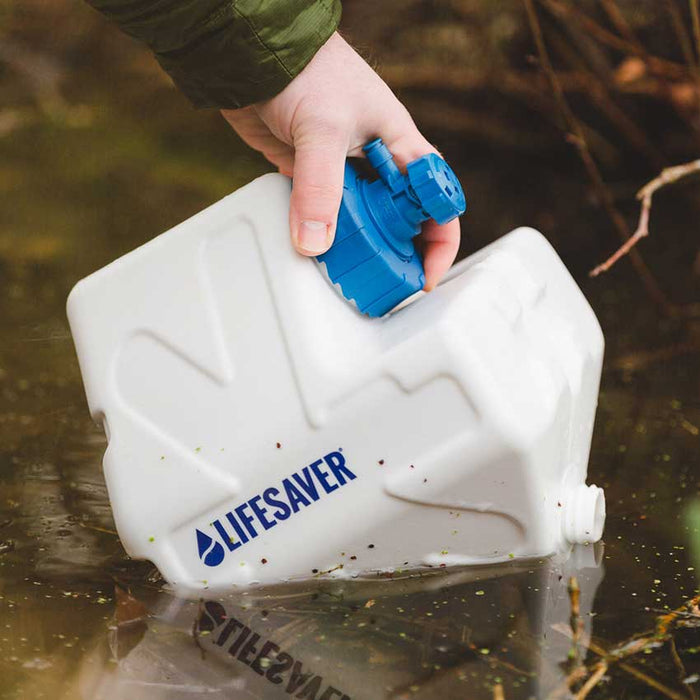 LifeSaver Cube Water Filtration System easy to use