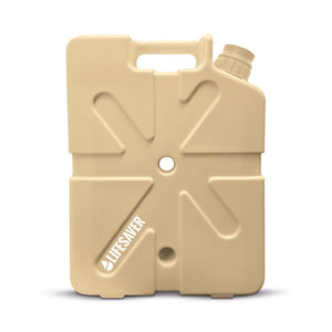 LifeSaver Systems Lifesaver Jerrycan 20000 Liter 5 Gallon Water Purification System Tan FREE SHIPPING