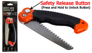 SE PS185 Mini Pruning Saw with Safety Release Button