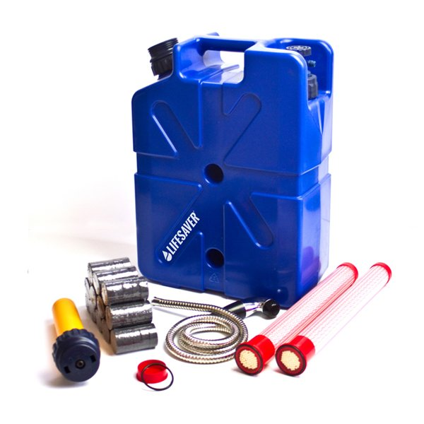 LifeSaver Jerrycan Ultimate Emergency Preparedness Pack FREE SHIPPING