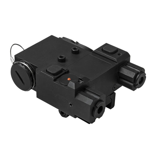 NcSTAR VLGIRQRB DESIGNATOR BOX WITH GREEN AND INFRARED LASERS
