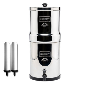 "Big Berkey® System with 9"" Super Sterasyl™ Ceramic Filters (2.25 gal)"