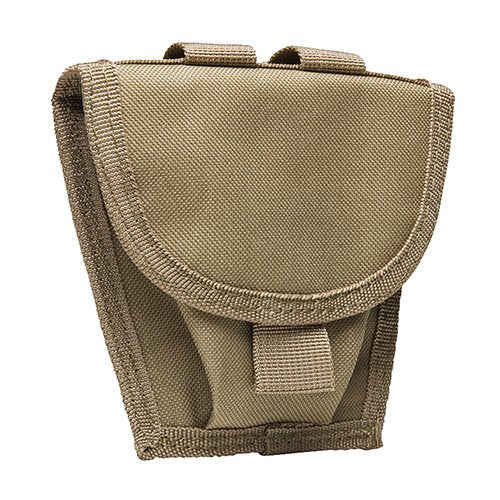 VISM by NcSTAR CVHCP2973T HANDCUFF POUCH/ TAN