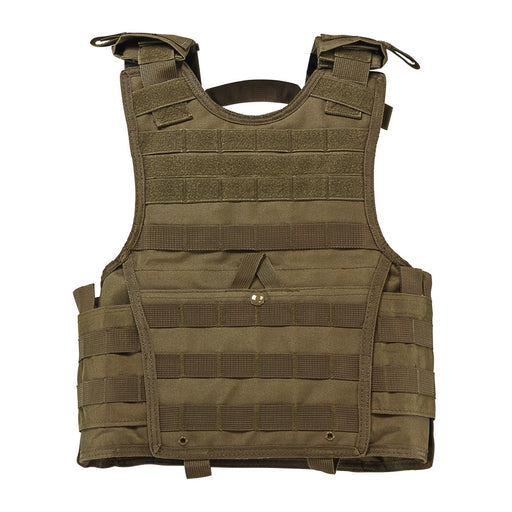 "VISM by NcSTAR CVPCVXC2963T EXPERT PLATE CARRIER VEST (8""x10"" ARMOR PLATE POCKET)/SMALL/ TAN"