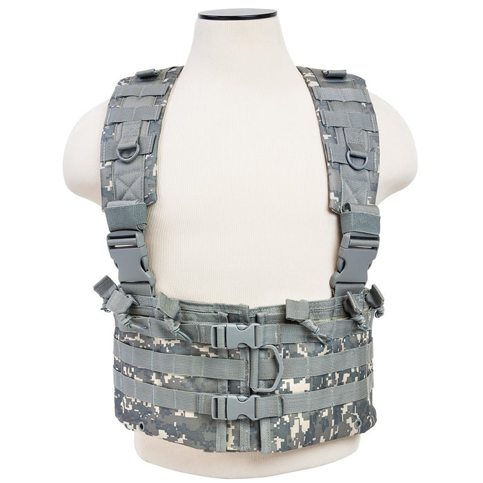 VISM by NcSTAR CVARCR2922D AR CHEST RIG/DIGITAL CAMO