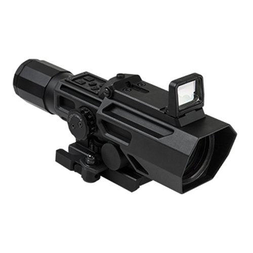 VISM by NcSTAR VADOBP3942G ADO 3-9X42 Scope with Flip Up Red Dot