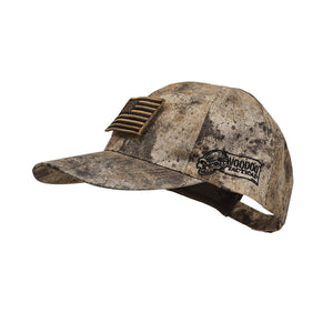 VooDoo Tactical 20-9351105000 Cap With Removable Flag Patch VooDoo Tactical Cam
