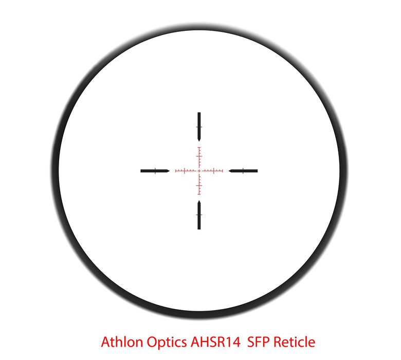 Athlon Optics TALOS BTR 1-4x24  Direct Dial Fixed 30mm Tube SFP, AHSR 14 SFP IR-MIL 215025 FREE SHIPPING