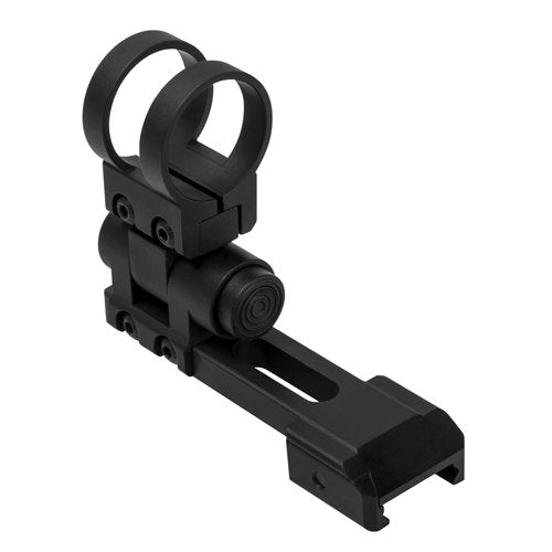 "VISM by NcSTAR VMFLPRMR PICATINNY 1"" FLASHLIGHT/LASER EXTENDED MODULAR RING MOUNT/ BLACK"