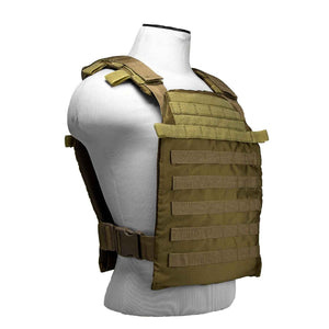 "VISM by NcSTAR CVPCFL2995T FAST PLATE CARRIER 11""X14""/ TAN"