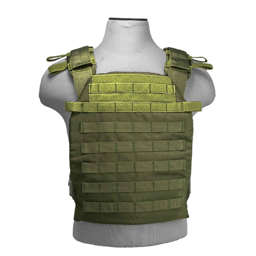 "VISM by NcSTAR CVPCFL2995G FAST PLATE CARRIER 11""X14""/ GREEN"