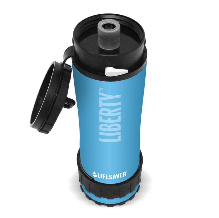 LifeSaver Liberty Water Filtration bottle 2000UF - Blue FREE SHIPPING