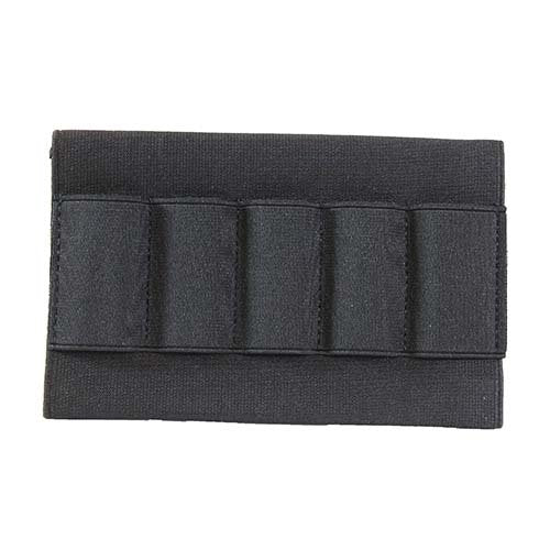 VISM by NcSTAR CVSSG2994B SHOTGUN STOCK SHELL POUCH/BLACK