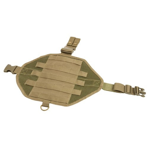 VISM by NcSTAR CVDLMP2952T DROP LEG MOLLE PANEL/TAN