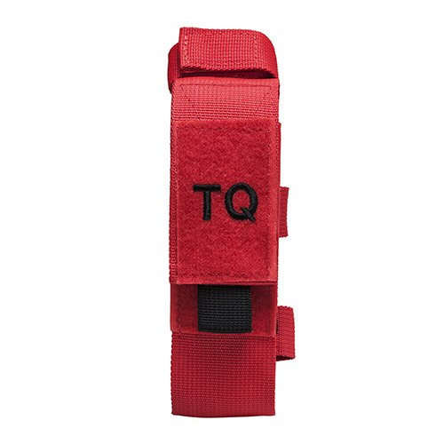 VISM by NcSTAR CVTQ2990R TOURNIQUET & TRAUMA SHEAR POUCH - RED