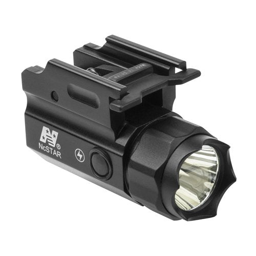 NcSTAR ACQPTF 3W 150 Lumen LED Compact Flashlight Quick Release Mount with Strobe