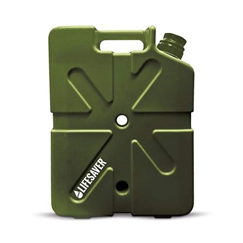 LifeSaver Jerrycan 20000UF 5 Gallon Water Purification System OD Green FREE SHIPPING