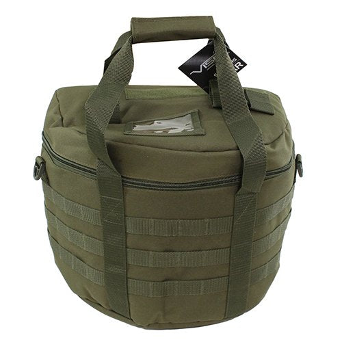 VISM by NcSTAR CLHELBAG2981G RIOT/TACTICAL HELMET BAG - GREEN