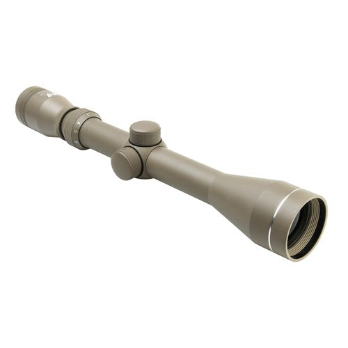 NcSTAR SFB3940BT SHOOTER I SERIES 3-9X40 TAN SCOPE/BLUE LENS/WEAVER RINGS