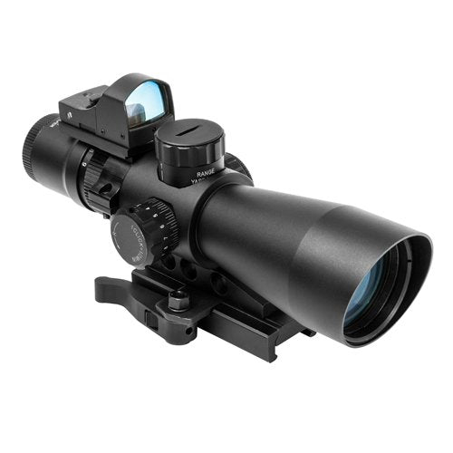 NcSTAR STP3942GGAV2-A ULTIMATE SIGHTING SYSTEM GEN 2 3-9X42 P4 SNIPER/ WITH GREEN MICRO DOT Free Shipping