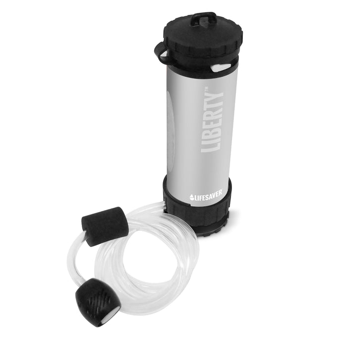LifeSaver Liberty Water Filtration bottle 2000UF - Silver FREE SHIPPING