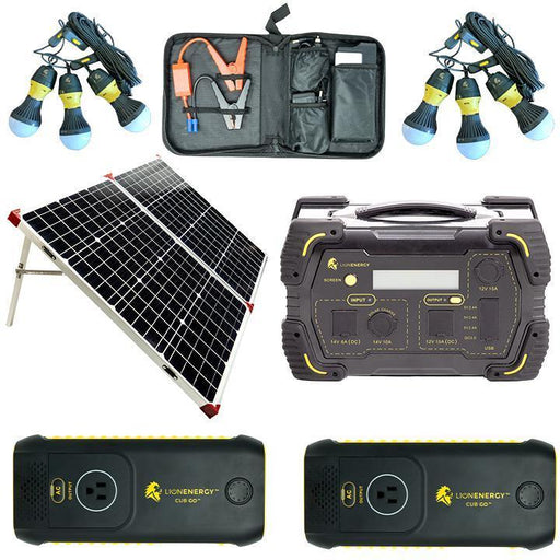 Lion Energy Tailgating Kit - Power Your Tailgate
