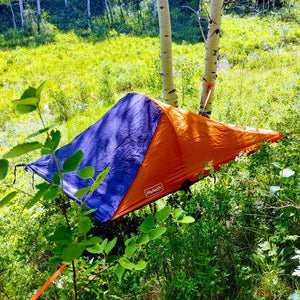 Bivymok - The Above-Ground Flying Tent Full 4-Point Suspension 1000lbs