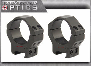 Vector Optics 34mm or 35mm Scope Low Profile Picatinny Rings