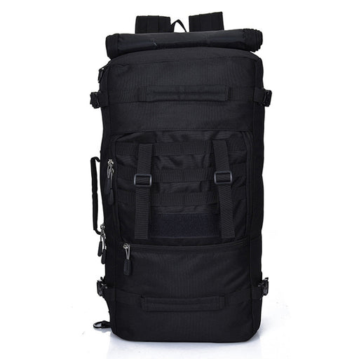50L Large Backpack Outdoor Trekking Rucksacks Bag for Hiking Camping Mountain Climbing (Black)