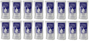 16 Pouches Purified SOS Emergency Water Pouch Disaster Survival 125 ml Each Kit