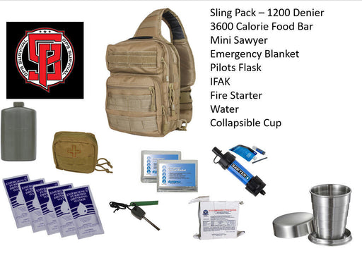 GPS Survival Emergency Kit For Every Day Carry Coyote