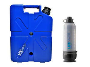 LifeSaver Jerrycan 20000UF + 6000UF Water Filtration Bottle Bundle FREE SHIPPING