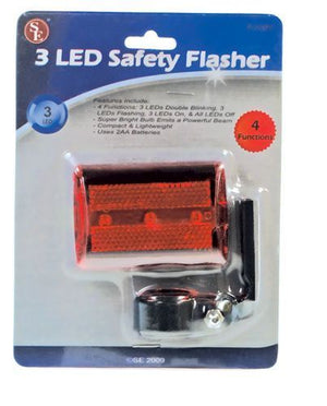 SE FL220RY 3 LED Red Safety Flasher