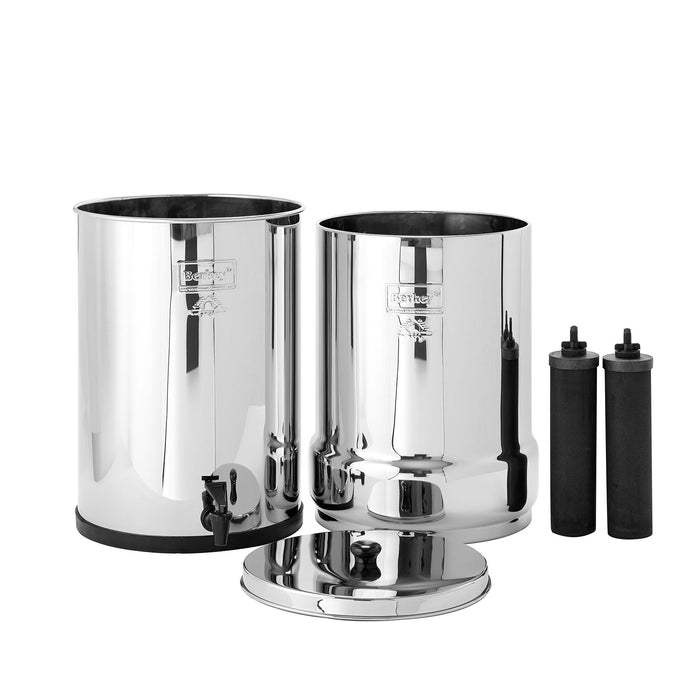 Crown Berkey Water Filter System with two Black Berkey Filters
